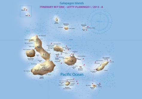 2013 Route Map Itinerary A