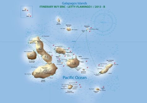 2013 Route Map Itinerary B